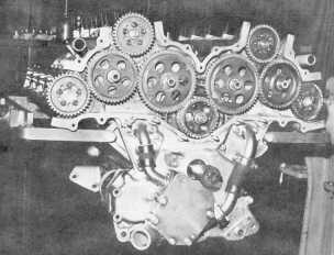 1964 Indy DOHC cam drive
