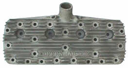 Period Offenhauser high compression cylinder head