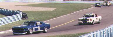 Turn 11 at Watkins Glen, SVRA 1997