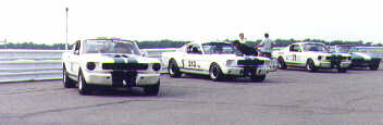 Starting grid at Pocono, SVRA 1997